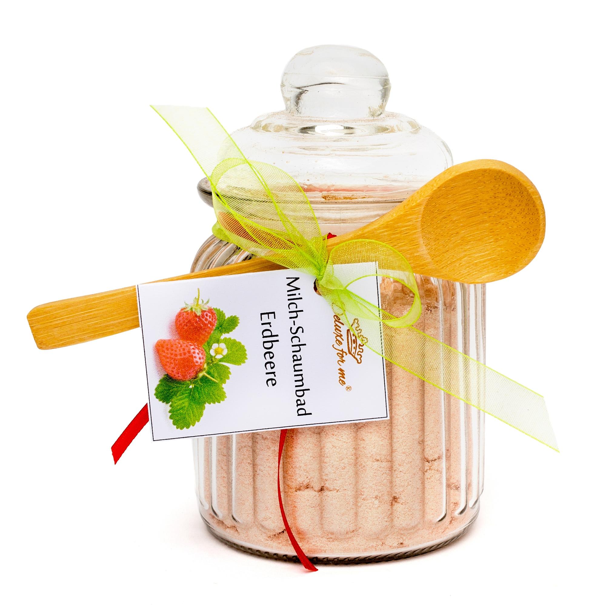 Milch-Schaumbad Erdbeere