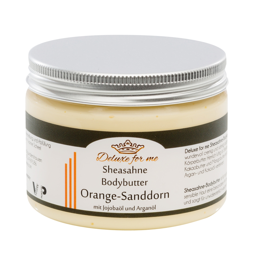 Bodybutter-Sheasahne Orange-Sanddorn vegan