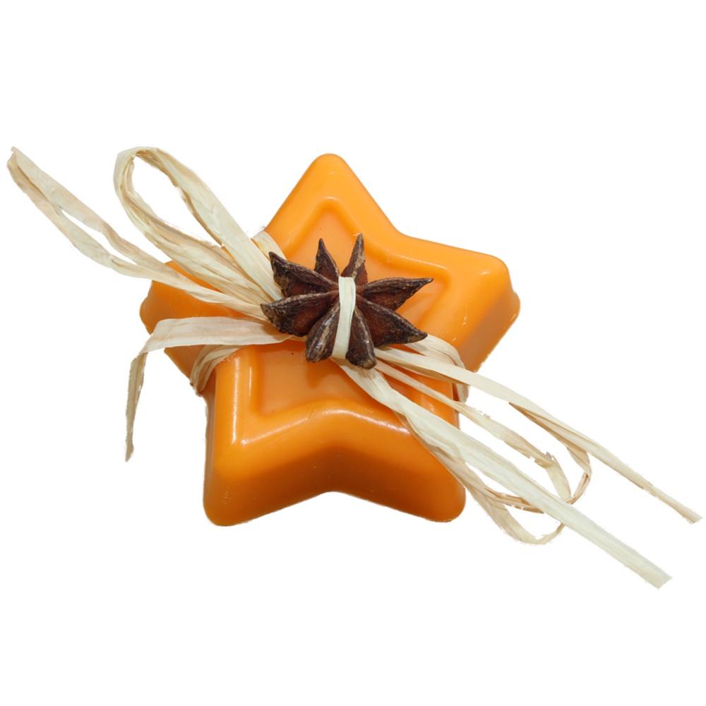 Orangen-Zimt-Stern
