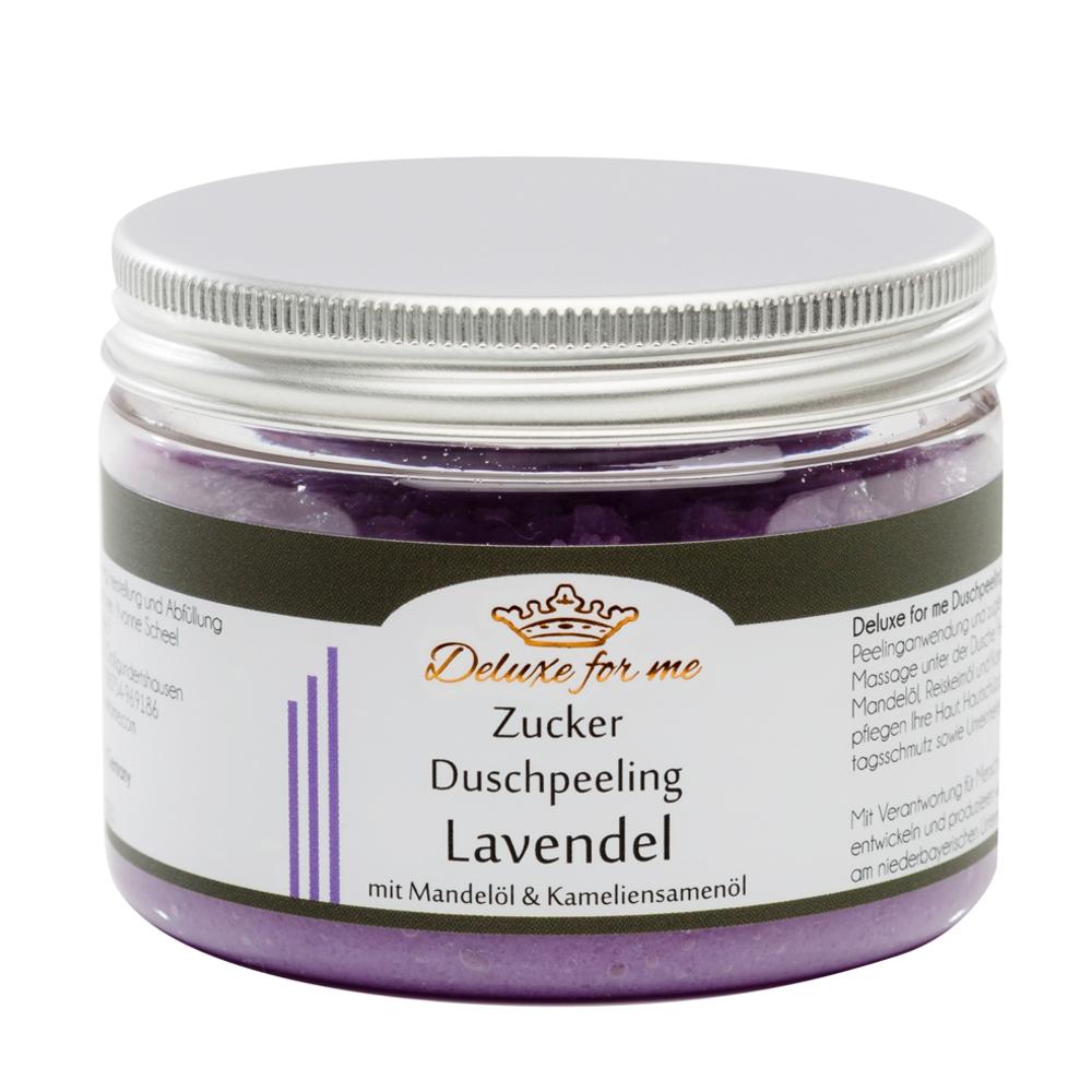 Zucker Duschpeeling Lavendel