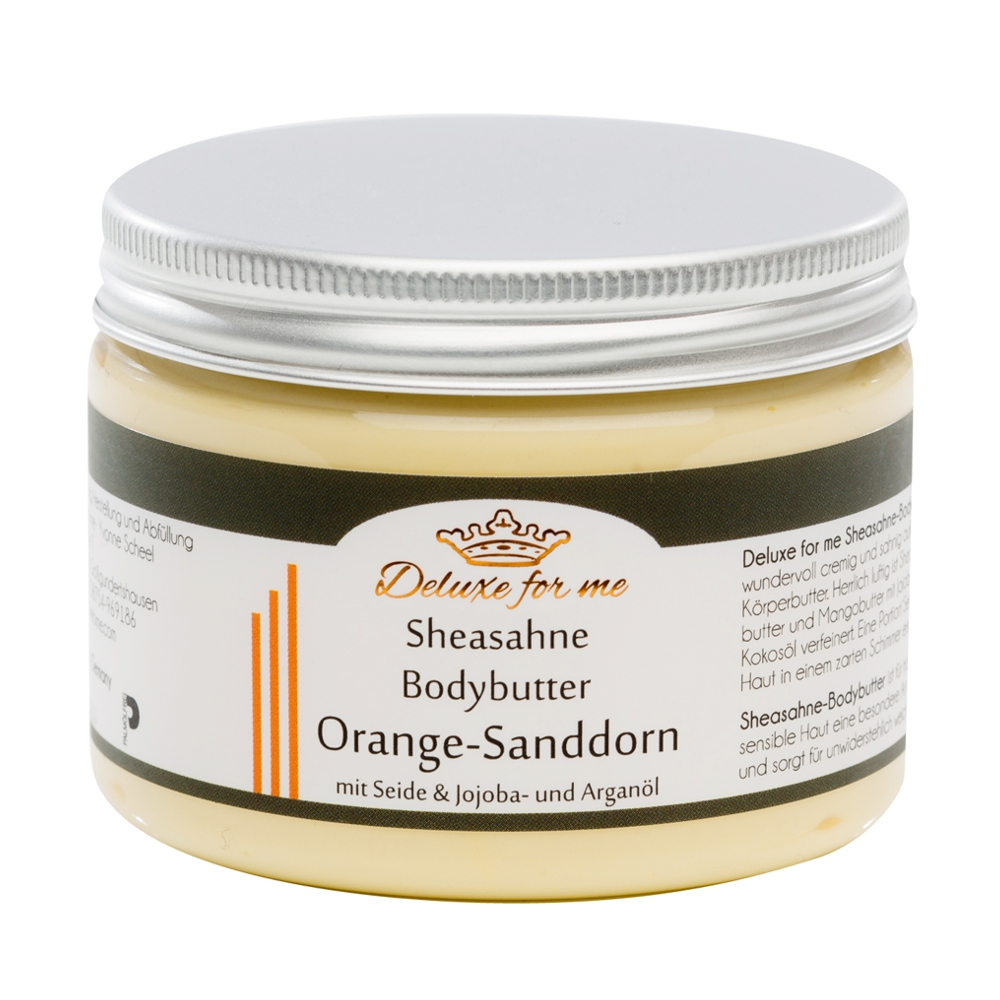 Bodybutter-Sheasahne Orange-Sanddorn