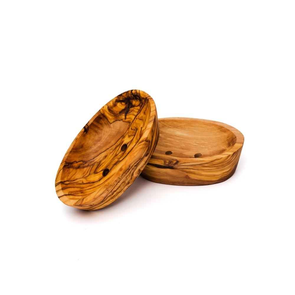 Olivenholz Seifenschale oval mini