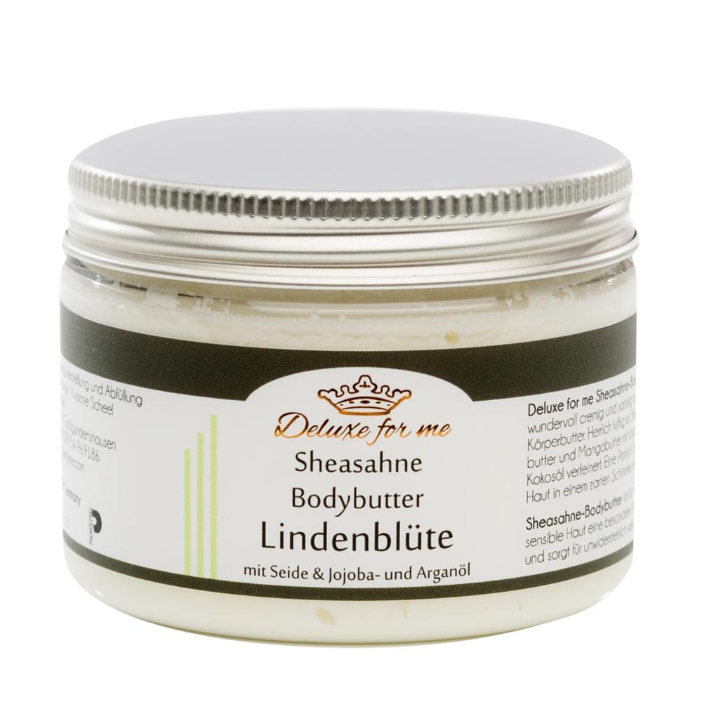 Bodybutter-Sheasahne Lindenblüte