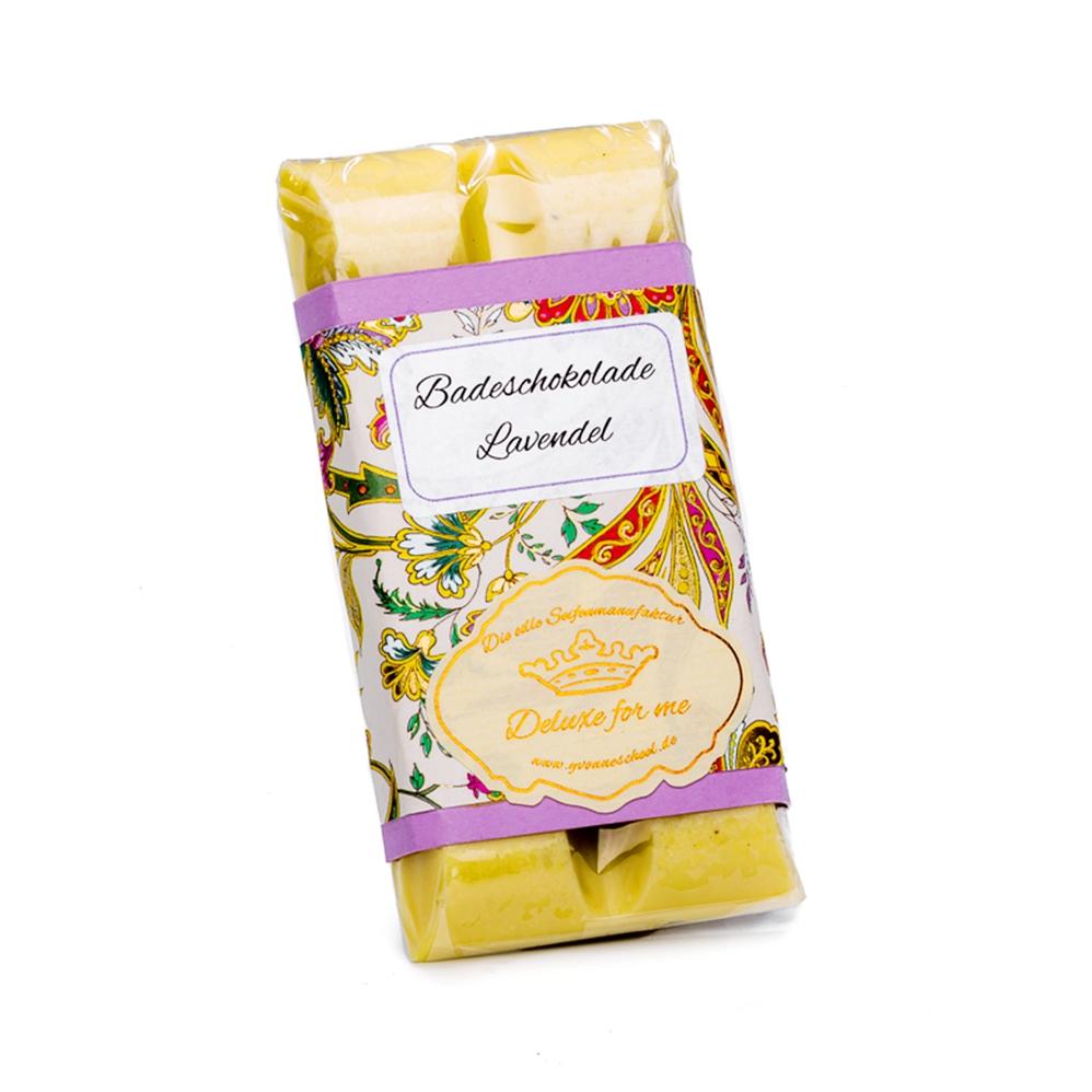 Badeschokolade Lavendel 30g