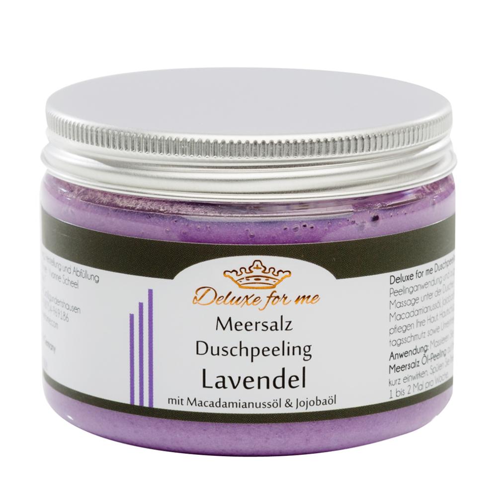 Meersalz Duschpeeling Lavendel