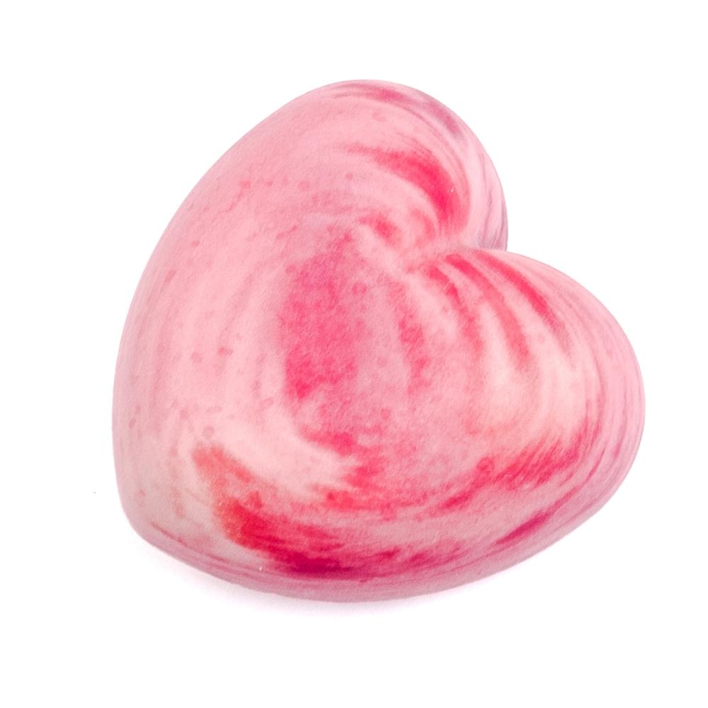 Herzerl Seife Erdbeer-Rhabarber