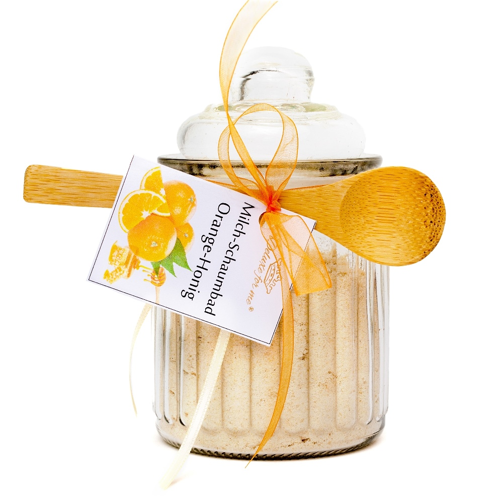 Milch-Schaumbad Orange-Honig
