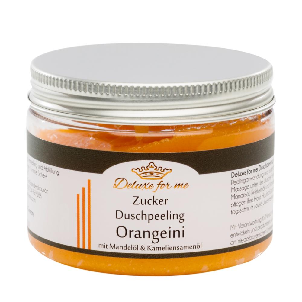 Zucker Duschpeeling Orangeini