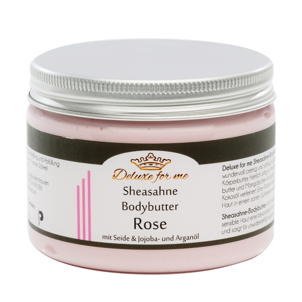 Bodybutter-Sheasahne Rose
