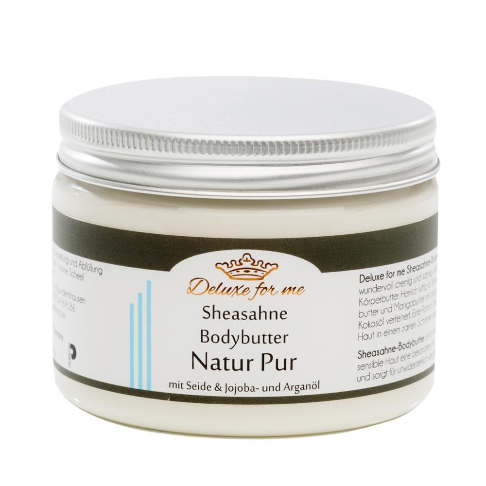Bodybutter-Sheasahne Natur Pur