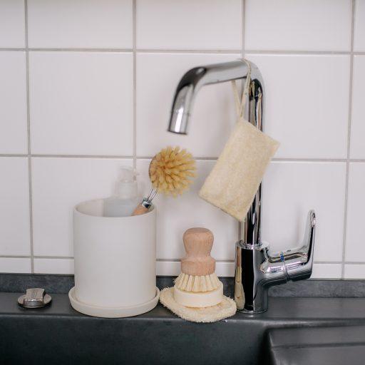 Spülbürste Ersatzkopf mit Sisalborsten