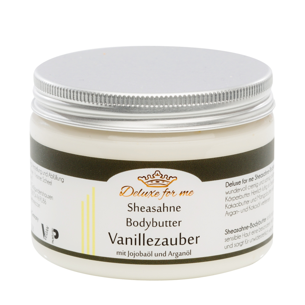 Bodybutter-Sheasahne Vanille vegan