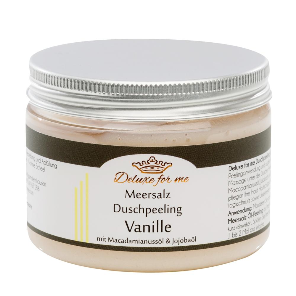 Meersalz Duschpeeling Vanille
