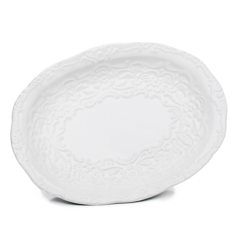 Keramik Seifenschale Biedermeier